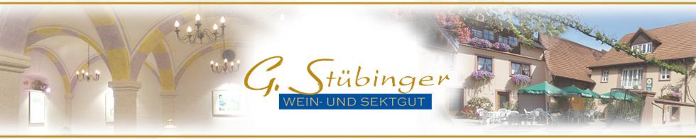 Wein- und Sektgut Stübinger-Logo